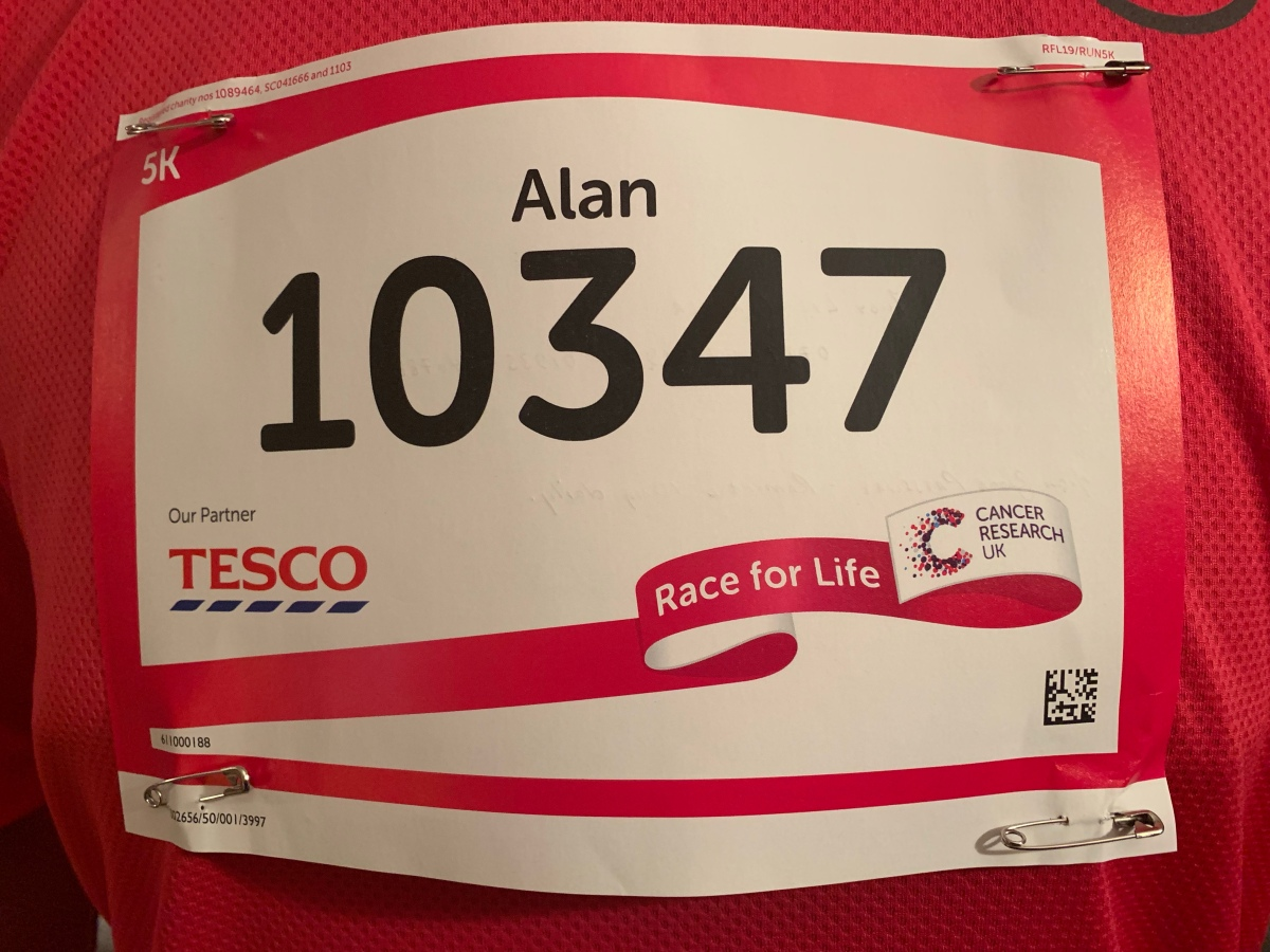 Yeovil Race For Life 5k – 15/06/2019